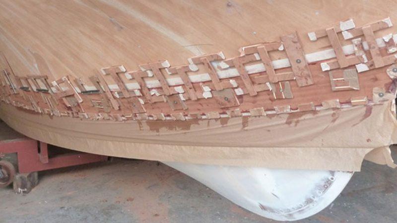 restauro barche legno