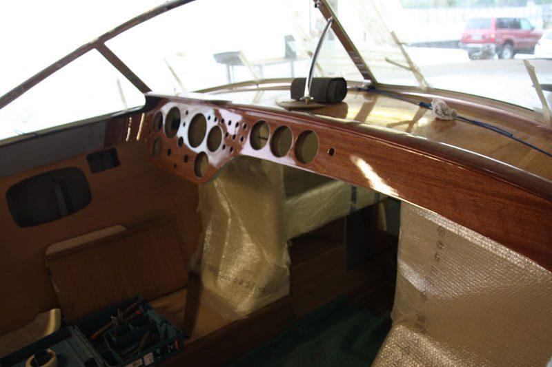 restauro barche legno salò