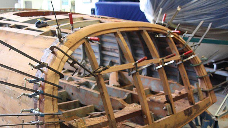 restauro scafi barche