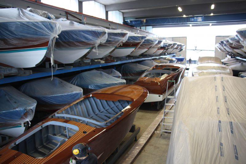 Arcangeli rimessaggio barche lago di garda